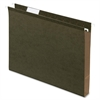 "Box Bottom Hanging Folder - 1"" Folder Capacity - Letter - 8 1/2"" x 11"" Sheet Size - Folder - Standard Green - 25 / Box"