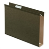 "Pendaflex Box Bottom Hanging Folder - 2"" Folder Capacity - Letter - 8 1/2"" x 11"" Sheet Size - Folder - Standard Green - 25 / Box"