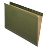 "Reinforced Hanging Folder - Legal - 8 1/2"" x 14"" Sheet Size - Standard Green - 25 / Box"