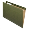 "Reinforced Hanging Folder - Legal - 8 1/2"" x 14"" Sheet Size - Internal Pocket(s) - 1/3 Tab Cut - Standard Green - 25 / Box"
