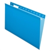 "Hanging Folder - Legal - 8 1/2"" x 14"" Sheet Size - 1/5 Tab Cut - Blue - 25 / Box"