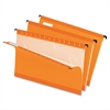 "Pendaflex Hanging Folder - Legal - 8 1/2"" x 14"" Sheet Size - 1/5 Tab Cut - Orange - 25 / Box"