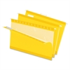 "Pendaflex Reinforced Hanging Folders - Legal - 8 1/2"" x 14"" Sheet Size - 1/5 Tab Cut - Yellow - 25 / Box"