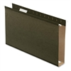 "Standard Green Hanging Folder - 2"" Folder Capacity - Legal - 8 1/2"" x 14"" Sheet Size - Pressboard - Standard Green - 25 / Box"