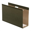 "Pendaflex Hanging Folder - 4"" Folder Capacity - Legal - 8 1/2"" x 14"" Sheet Size - 4"" Expansion - Standard Green - 25 / Box"