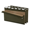 "Pendaflex ReadyTab Hanging File Folder - Legal - 8.50"" x 14"" Sheet Size - 1/5 Tab Cut - Green - Recycled - 25 / Box"
