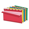 "ReadyTab Color Hanging Folders - Legal - 8 1/2"" x 14"" Sheet Size - 1/5 Tab Cut - Assorted - Recycled - 25 / Box"
