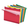 "ReadyTab Hanging File Folder - Letter - 8 1/2"" x 11"" Sheet Size - 1/3 Tab Cut - Assorted - 25 / Box"
