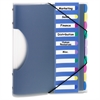 "Pendaflex PileSmart Project Sorter - 10 x Divider - 10 x Tab - 8.50"" x 11"" - 1 Each - Multicolor Divider"