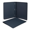 "Panel & Border Report Covers - 1/2"" Folder Capacity - Letter - 8 1/2"" x 11"" Sheet Size - Leatherette - Dark Blue - 25 / Box"