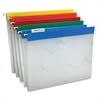 "Pendaflex EasyView Poly Hanging Folders - 9 1/4"" x 11 3/4"" Sheet Size - 1/5 Tab Cut - Assorted Position Tab Location - Poly - Blue, Yellow, Red, Orange, Green - 25 / Box"