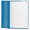 "Oxford Clear Front Report Cover - Letter - 8 1/2"" x 11"" Sheet Size - 3 x Tang Fastener(s) - 1/2"" Fastener Capacity for Folder - Light Blue"