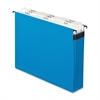 "Pendaflex SureHook Reinforced Expandable File - Letter - 8 1/2"" x 11"" Sheet Size - 11 pt. Folder Thickness - Paper Stock - Blue - 1 Each"