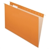 "Pendaflex Essentials Color Hanging Folders - Legal - 8 1/2"" x 14"" Sheet Size - 1/5 Tab Cut - Orange - 25 / Box"
