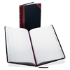 "9 Series Record-Ruled Account Book - 150 Sheet(s) - Thread Sewn - 14.12"" x 8.62"" Sheet Size - White Sheet(s) - Red, Blue Print Color - Black, Red Cover - 1 Each"