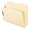 "Pendaflex Top Tab Manila Fastener Folders - Letter - 8 1/2"" x 11"" Sheet Size - 2 Fastener(s) - 2"" Fastener Capacity for Folder - 1/3 Tab Cut - Assorted Position Tab Location - 11 pt. Folder Thickness"