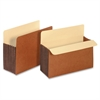 "Pendaflex Tyvek Expanding Pocket - Letter - 8 1/2"" x 11"" Sheet Size - 7"" Expansion - Redrope - Brown - 1 Each"
