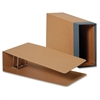 "Columbia Binding Case - External Dimensions: 9.5"" Width x 15.9"" Depth x 4.6""Height - Media Size Supported: Legal - Fiberboard, Kraft - Brown - For Document - 1 Each"