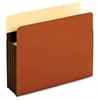 "Expansion File Pocket - Letter - 8 1/2"" x 11"" Sheet Size - 3 1/2"" Expansion - 24 pt. Folder Thickness - Tyvek - Brown - 25 / Box"
