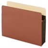"Pendaflex Extra Wide Accordion File Pockets - Letter - 8 1/2"" x 11"" Sheet Size - 3 1/2"" Expansion - 24 pt. Folder Thickness - Tyvek - Brown - 10 / Box"