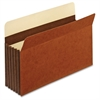 "Pendaflex Heavy-duty Accordion File Pockets - Legal - 8 1/2"" x 14"" Sheet Size - 5 1/4"" Expansion - 24 pt. Folder Thickness - Tyvek - Brown - 10 / Box"