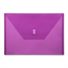 "Lion Design-R-Line Poly Envelope - A4 - 8 17/64"" x 11 11/16"" Sheet Size - Poly - Purple - Recycled - 1 Each"