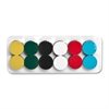 "Magna Visual High Energy Magnets - 12 Circle - x 125 mil x 0.8"" Diameter - Magnet - Multicolor"