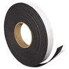 "Magna Visual Magnetic Tape - 1"" Width x 50 ft Length - Magnet - Flexible - 1 / Roll - Charcoal"