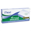 "Mead Security Envelopes - Security - #10 - 4.13"" Width x 9.50"" Length - Peel & Seal - 45 / Box - White"