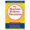 Merriam-Webster Paperback Thesaurus Dictionary Printed Book - 688 Pages