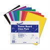 "Peacock Poster Board Class Pack - 22"" x 28"" - 50 / Carton - Assorted"