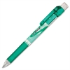 Pentel E-Sharp Mechanical Pencils - HB, #2 Lead Degree (Hardness) - 0.5 mm Lead Diameter - Refillable - Green Barrel - 1 Each