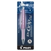Retractable Gel Rollerball Pen - Fine Point Type - 0.7 mm Point Size - Refillable - Black Gel-based Ink - 1 Each
