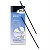 Trim2Fit Plastic Refill - Medium Point - Black Ink - Acid-free, Water Resistant - 2 / Pack