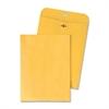 "Quality Park Clasp Envelope - Clasp - #25 - 4.63"" Width x 6.75"" Length - 28 lb - Gummed - Kraft - 100 / Box - Kraft"