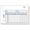 "Rediform Carbonless Invoices - 50 Sheet(s) - 3 Part - Carbonless Copy - 5.50"" x 7.87"" Sheet Size - Assorted Sheet(s) - Blue, Red Print Color - 1 / Each"