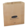 Waxed Receptacle Bag - Kraft Paper - 250/Carton