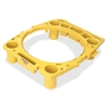 "Rubbermaid Brute Rim Caddy - 26.5"" Width x 6.8"" Depth x 32.5"" Height - Yellow"