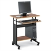 "Adjustable Height Workstation - 22"" Table Top Length x 29.50"" Table Top Width x 19.75"" Table Top Depth x 0.75"" Table Top Thickness - 34"" Height Width x 29.50"" x 22"" Depth - Assembly Required - M"