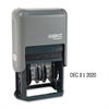 Xstamper ClassiX Self-Inked 4-Year Dater - Date Stamp - Black - Plastic - 1 Each