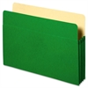 "Sparco Accordion File Pocket - 9 1/2"" x 11 3/4"" Sheet Size - 3 1/2"" Expansion - Green - Recycled - 1 Each"