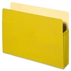 "Sparco Colored Expanding File Pockets - 9 1/2"" x 11 3/4"" Sheet Size - 3 1/2"" Expansion - Yellow - Recycled - 1 Each"