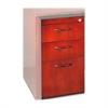 "Corsica Box/Box/File Pedestal for Credenza - 15"" x 18"" x 27"" - 3 x Box Drawer(s), File Drawer(s) - Beveled Edge - Material: Wood - Finish: Cherry Veneer, Sierra Cherry"