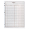 """TOPS Easy Use Inventory Sheets - 100 Sheet(s) - 1 Part - 11"""" x 8.50"""" Sheet Size - White Sheet(s) - 2 / Pack"""