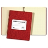 "Wirebound Quad Computation Book - 76 Sheets - Printed - Wire Bound - 9.50"" x 11.75"" - Buff Paper - 1Each"