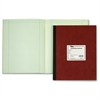 "TOPS Computation Notebook - 78 Sheets - Sewn - Both Side Ruling Surface - Ruled - 9.25"" x 11.75"" - Green Tint Paper - Pressboard Cover - Numbered - 1Each"