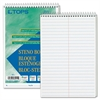 "Steno Book - 80 Sheets - Printed - Wire Bound - 6"" x 9"" - White Paper - Hardboard Cover - 12 / Pack"