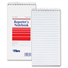 "TOPS Gregg Rule Reporter's Notebook - 70 Sheets - Printed - 4"" x 8"" - White Paper - 4 / Pack"
