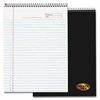 "TOPS Docket Gold Wirebound Planning Tablet - 70 Sheets - Printed - Double Stitched - 20 lb Basis Weight 8.50"" x 11.75"" - White Paper - Maroon Cover - 1Each"