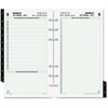 "Day-Timer 2 Pages Daily Planner Refill - Julian - Daily - 1 Year - January 2017 till December 2017 - 7:00 AM to 11:00 PM - 1 Day Double Page Layout - 3.75"" x 6.75"" - Tabbed, Portable, Address Director"